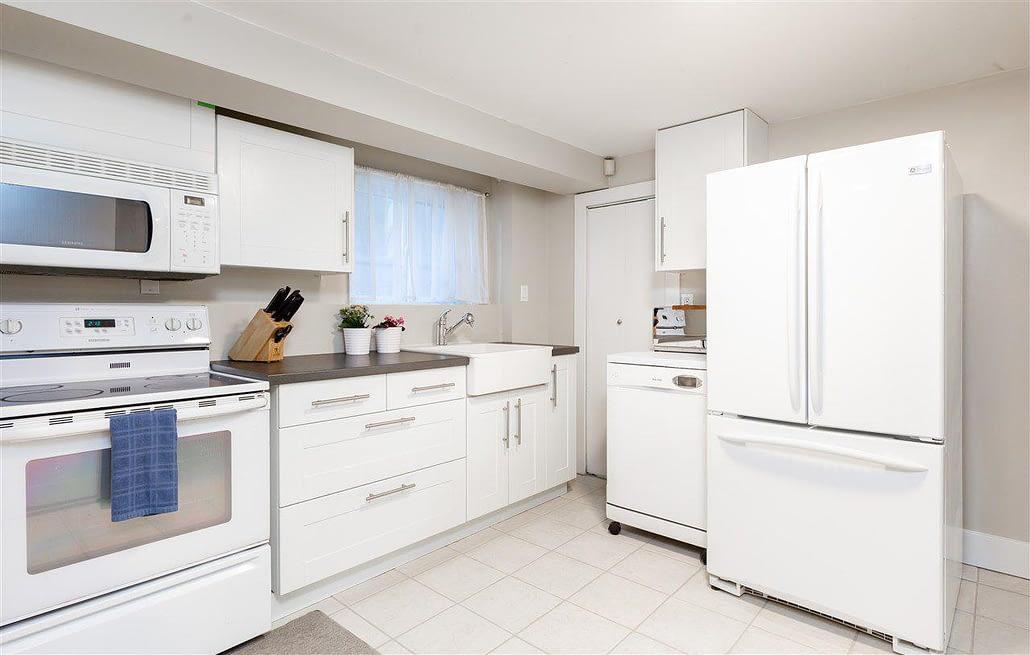 basement kitchen transformation