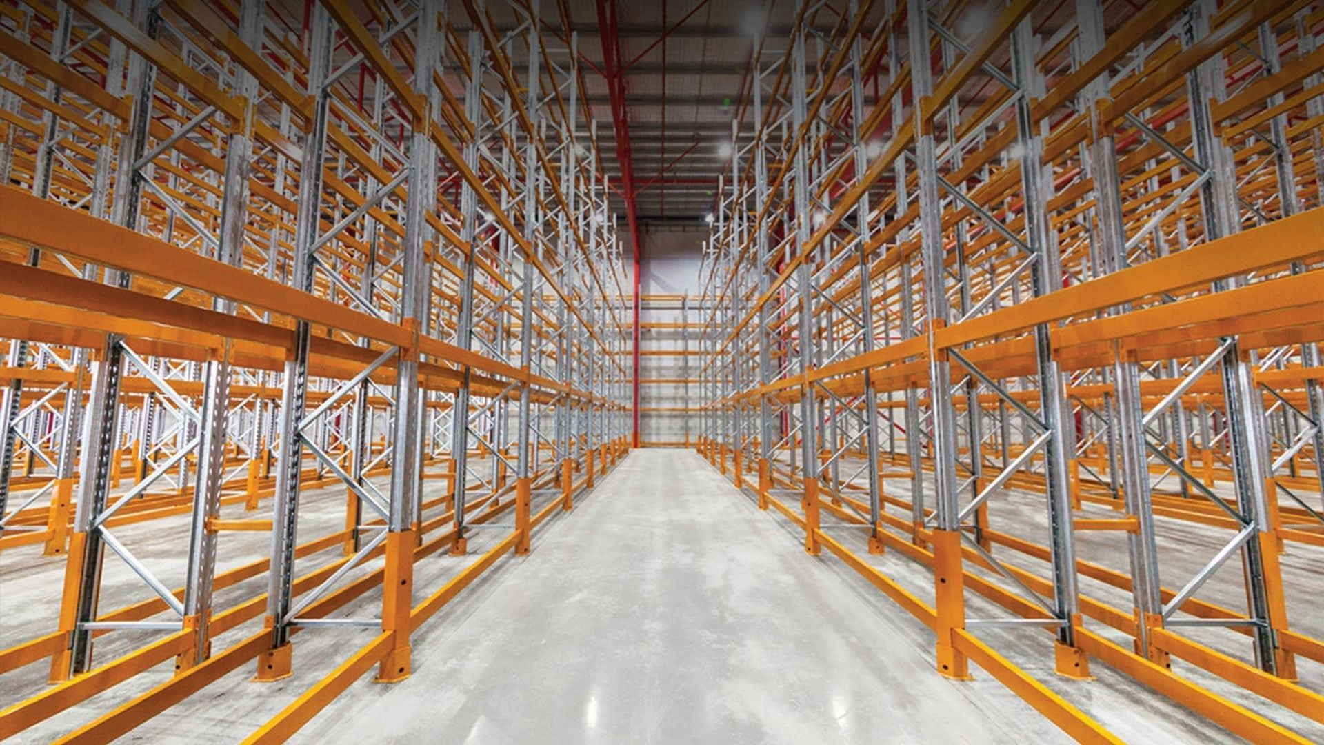 warehouse rack fitups optimization in vancouver