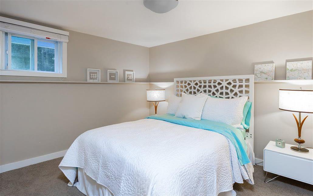 basement bedroom improvement